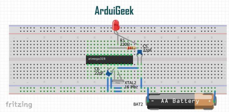 Blink circuit